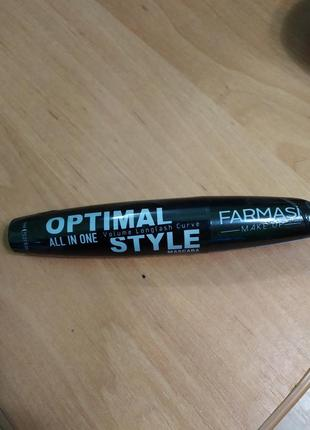 Тушь optimal style