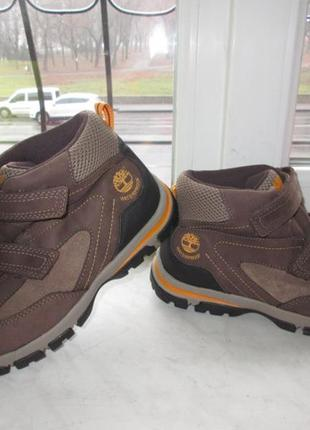 Кожаные ботинки timberland waterproof 38 р