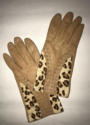 Англия! женские кожаные перчатки на подкладке dents.