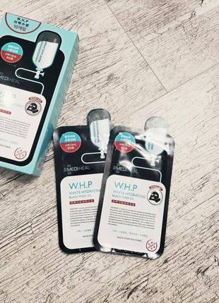 Маска для лица восстанавливающая mediheal w.h.p white hydrating