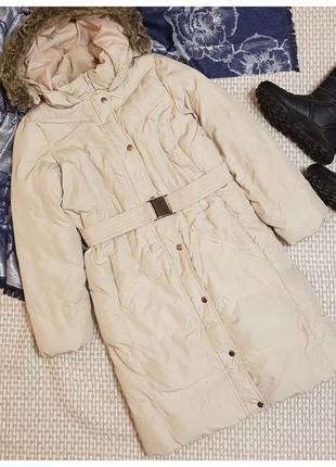 Пальто пуховик marks&spencer