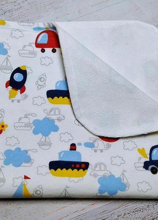 Непромокаемые пеленки 50x50 см (фланель)
