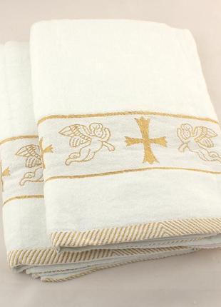 Крыжма для крещения новая в упаковке (140*70)