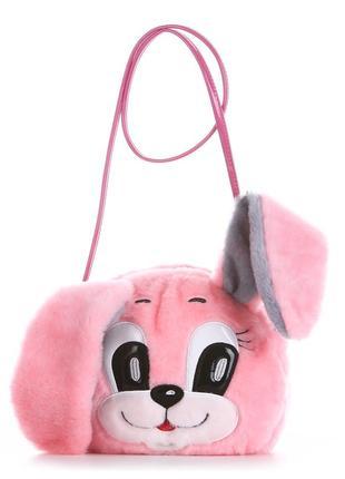 Плюшевая сумка через плечо игрушка из искусственного меха зайчик лиса тигр кошка в наличии