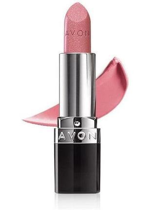 Розпродаж!!! губна помада avon «ультра» відтінок twinkle pink суперціна!!!