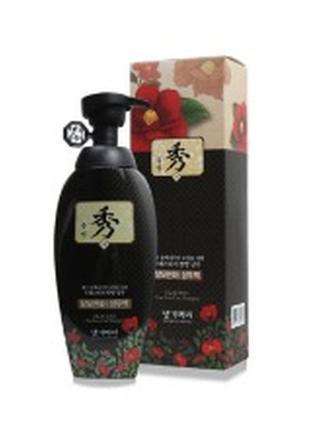 Шампунь против выпадения волос на основе масла камелии daeng gi meo ri 400 мл