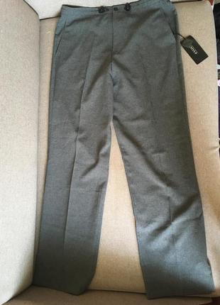 Черые класические брюки/сірі жіночі штани