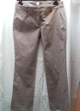 Хлопковые брендовые брюки
