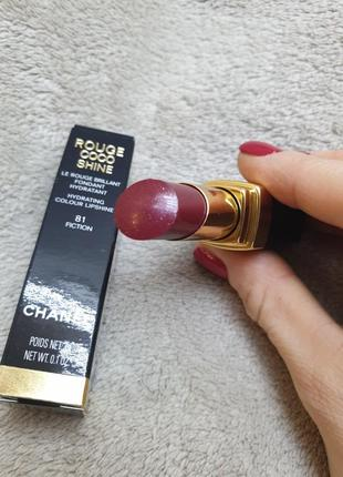 Chanel rouge coco shine n#81 fiction