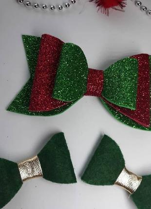 Святкові новорічні набори для волосся