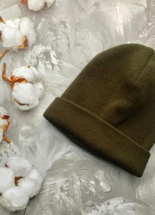 Базовая шапка хаки