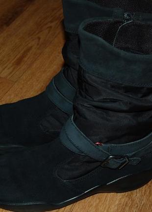 Зимние сапоги ботинки на мембране 37 р ecco gore tex хорошее состояние