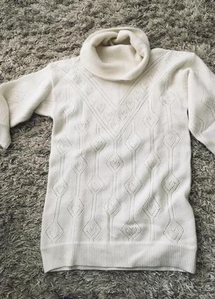 Свитер- платье