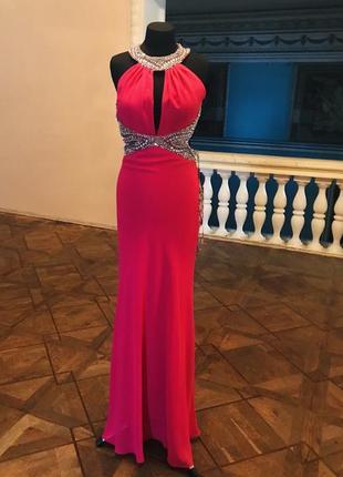 Распродажа. супер вечернее платье в открытой спиной