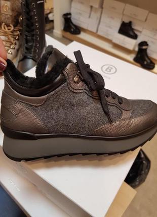 Очень стильные итальянские ботинки bogner