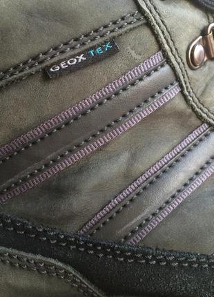 Ботинки зимние набук geox р.43