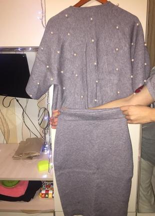 Праздничный костюм юбка и кофта