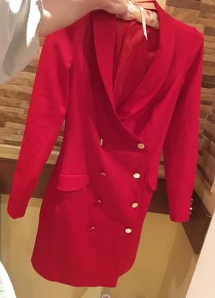 Круте платье пиджак