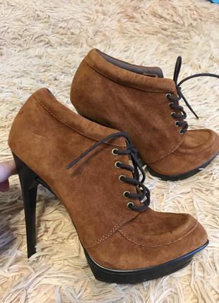 Замшеві черевики asos