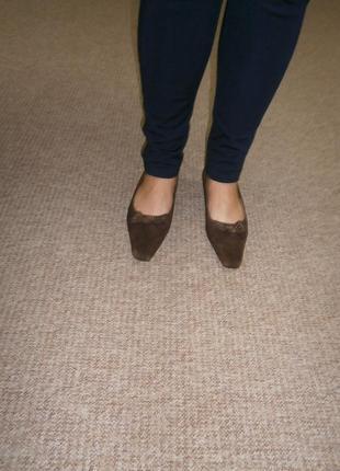 Шок цена/новые замшевые туфли   99 грн