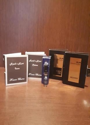Одним лотом фирменные семплы нишевой парфюмерии