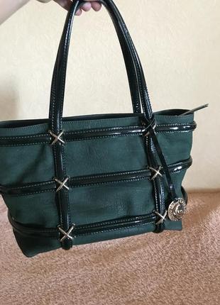 Кожаная сумка сумка кожаная gironacci оригинал