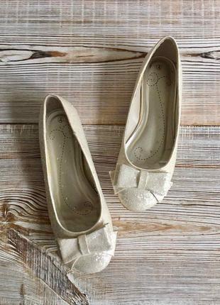 Нарядные балетки, туфли matalan р.36-37