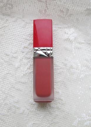 Жидкая помада dior rouge dior ultra care liquid lipstick 808 caress