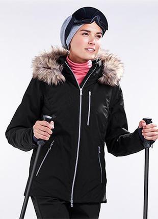 Теплющая высокотехнологичная лыжная куртка tchibo размер 42 евро наш 48