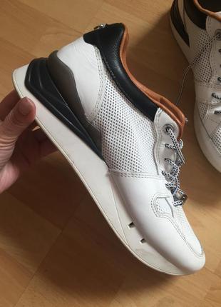 Итальянские кожаные кроссовки cetti