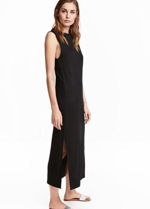 Мягенькое базовое платье из джерси от h&m., p. m
