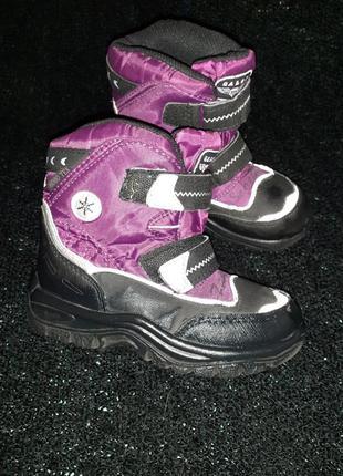 Термо черевики зимові для дівчинки