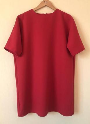 Прямое платье с коротким рукавом *boohoo* 10/38 р.