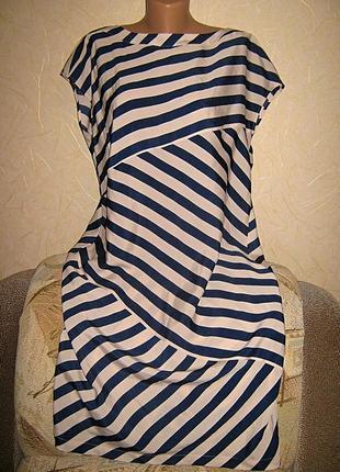 Стильное платье  пог 60