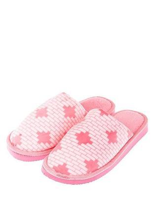 Тапочки розового цвета 36-41 р
