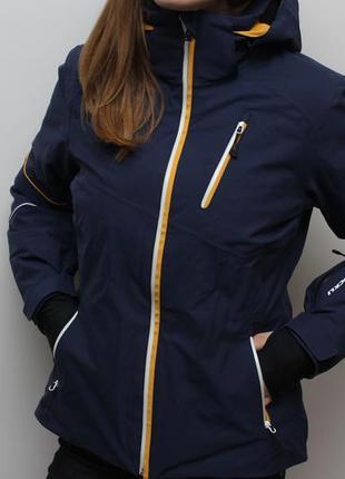 Изумительная лыжная утепленная оригинальная куртка stokli