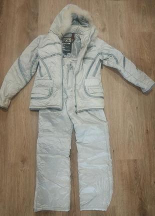Теплый лыжный, прогулочный костюм