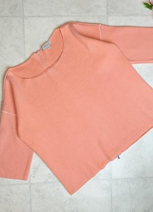 1+1=3 плотный персиковый свободный свитер оверсайз great plains london, размер 50 - 52