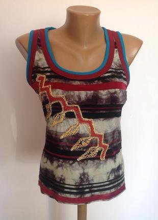 Суперовый ексклюзивный итальянский топик- блуза от бренда save the queen