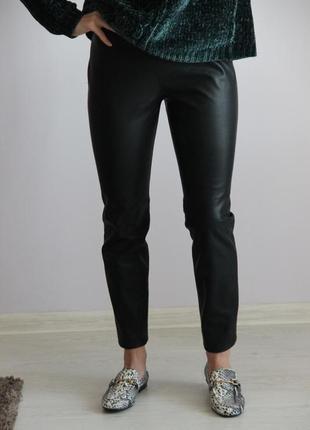 Кожаные штаны / лосины zara