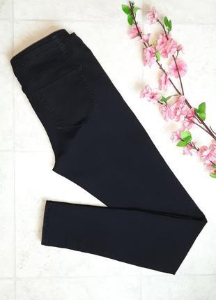 1+1=3 фирменные черные узкие зауженные джинсы скинни denim co, размер 44 - 46