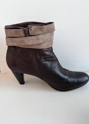 Женские ботинки демисезонные большого размера