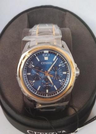 Чоловічий годинник citizen bu2064-58l eco drive.