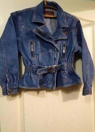 Куртка-косуха джинсовая классика marlboro