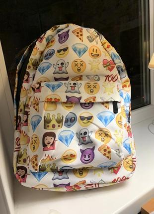 Рюкзак с emoji
