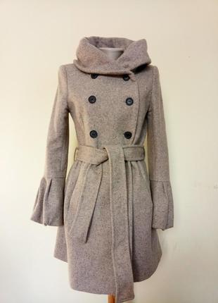 Брендовое пальто шерсть