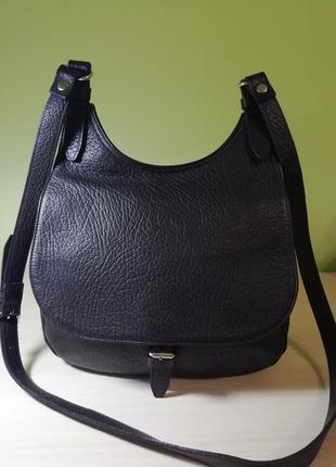 Шкіряна фірмова французька сумка кросбоді groom!!! оригінал!!!