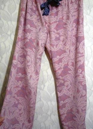 Пижамные брюки или домашние легкие штаны от tu в восточном принте.