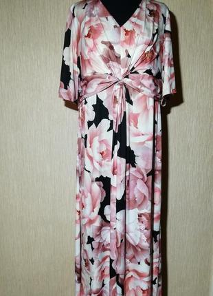 Сукня яскрава,великий батальний розмір together,максі довжина.нова!