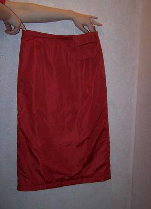Красная юбка  утепленная bogner